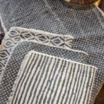 gray-patterned-runner-placemats