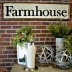 farmhouse sign - website