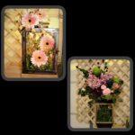 floral lanterns collage