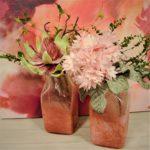 pink vases - 2