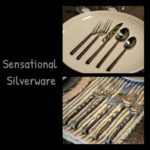 silverware collage
