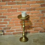 gold drink stand