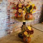Fall is just around the corner, we have created some fabulous fall arrangements to get you in the mood!