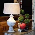 White Farmhouse Lamp
