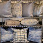 blue pillow rack - 2