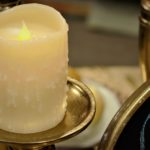 cream flameless candle-FB Cover
