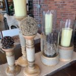 Rope candleholders