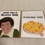 Dad cards
