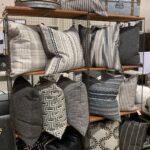 Grey Pillow Display