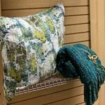 Turquoise Pillow Display (2)