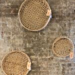 Wall basket trays