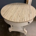 Check out this seagrass top... A hot, new trend in the furniture world!