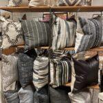 Black Natural Pillow Rack
