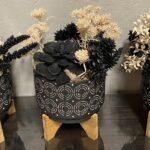 Black Pots w Feet