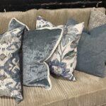 Blue - Natural Pillow Group