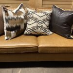 Butterscotch Leather Couch